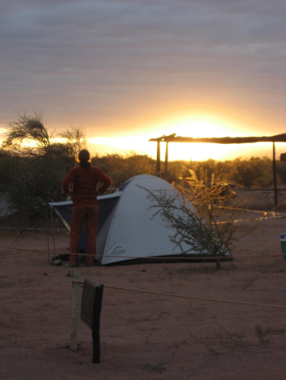 Camping Talampaya